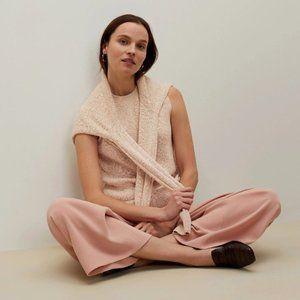 MM LAFLEUR 'Barbara' Tan Knit Boucle Sweater